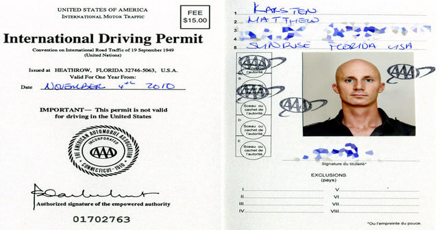 International Driving Permit (IDP) will no longer be required for drivers visiting Metro Atlanta from other countries.